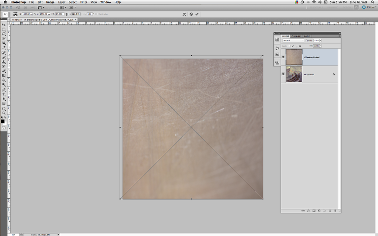 ApplyTexture - 3. Adjust the size & position of the texture
