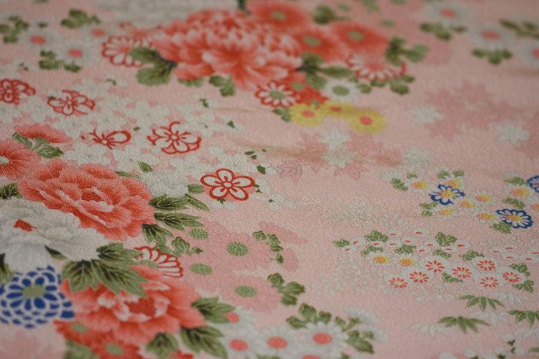 Vintage Pink Kimono