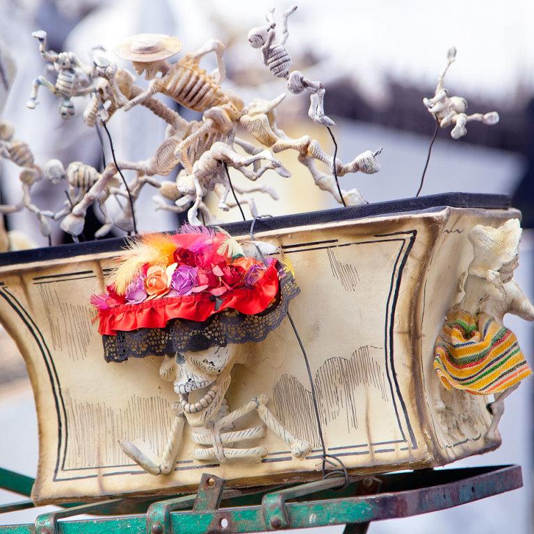 Posada Bike Skeletons