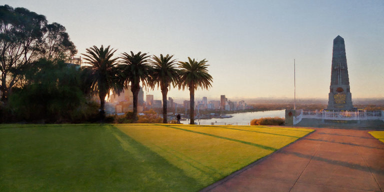 Sunrise at Kings Park