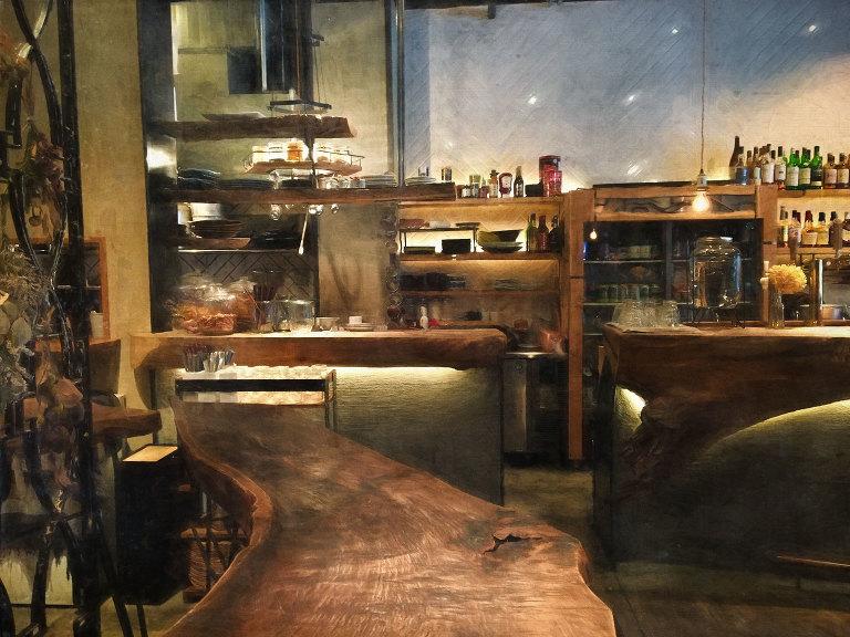 Len Cafe Interior