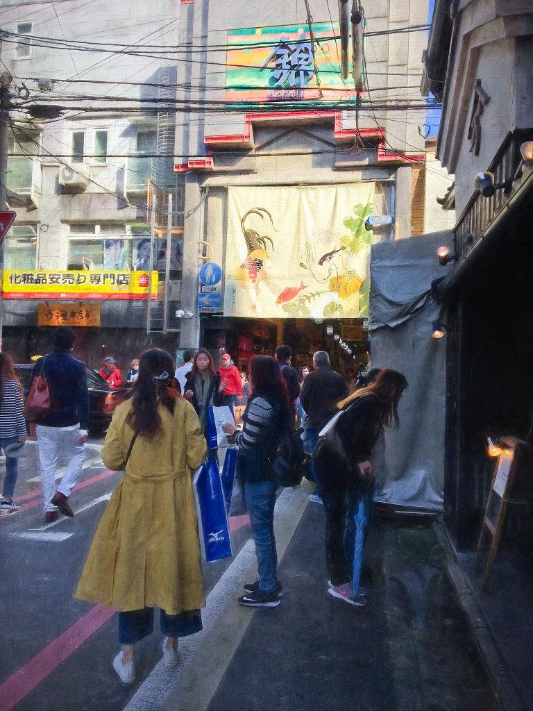 Outside Nishiki Market