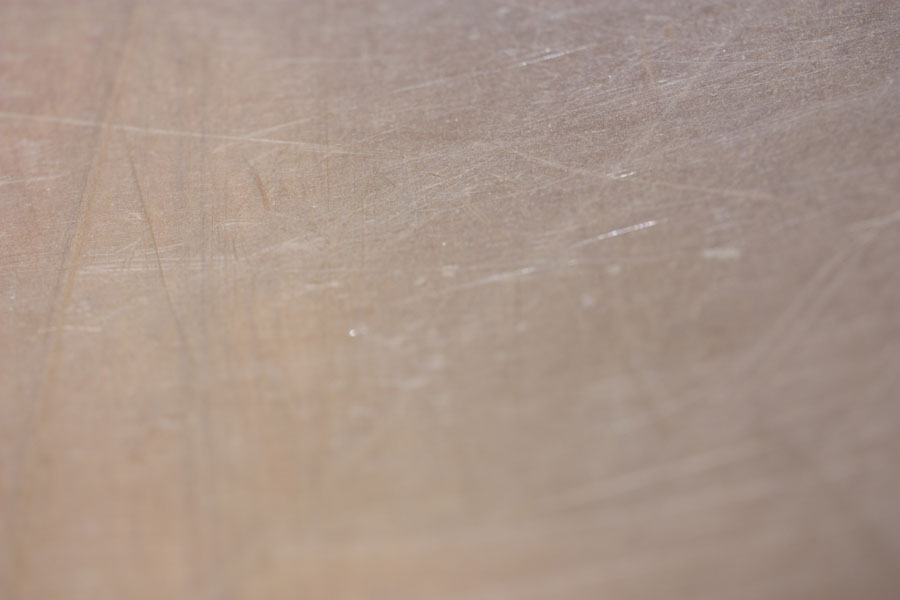 Etched - Thumbnail of a silvery subtly scratched aluminium texture