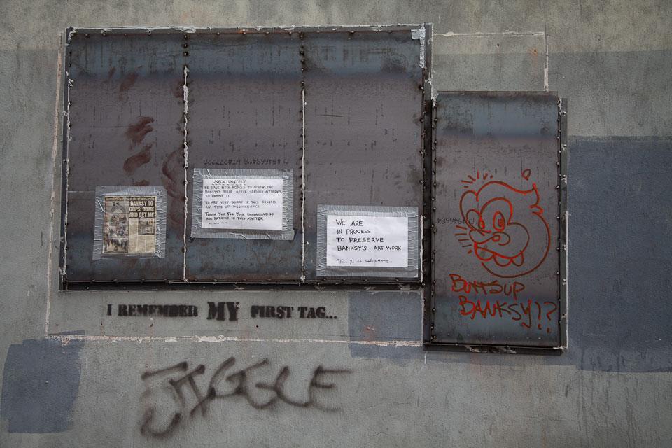 Banksy Art Preservation