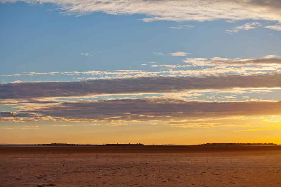 Lake Ballard Sunrise