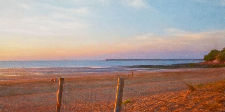 Mindil Beach fence