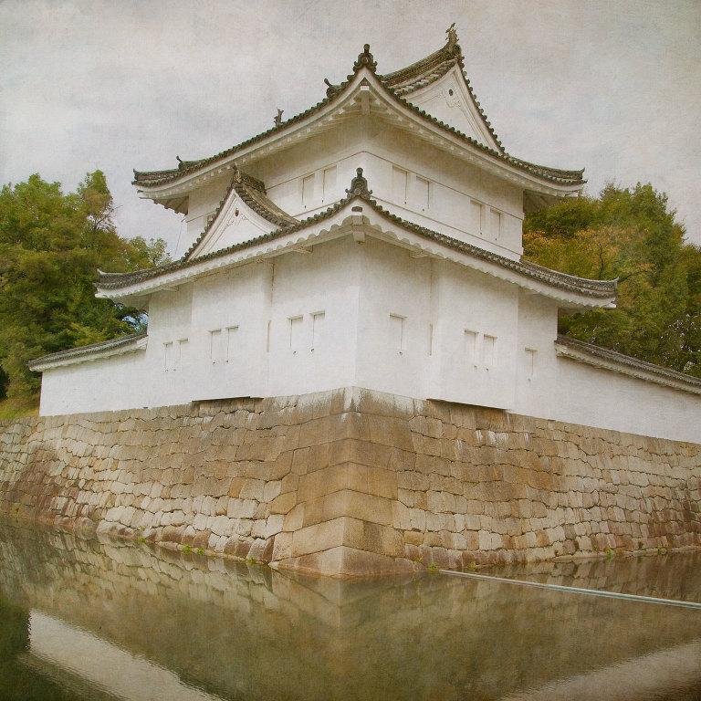 Nijo Castle Outer Wall & Moat